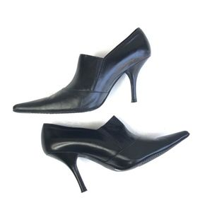 Black Chinese Laundry Heels, Shooties Size 9M
